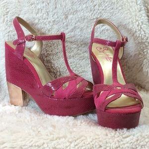 Hot Pink Seychelles' Heels